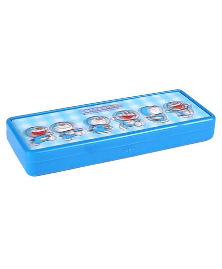 Doraemon 3D Pencil Box - Blue
