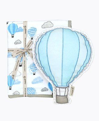 Masilo Up Up & Away Tuck Me In Gift Bundle - Blue