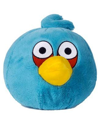 Angry Birds Soft Toy Blue - Height 20 cm