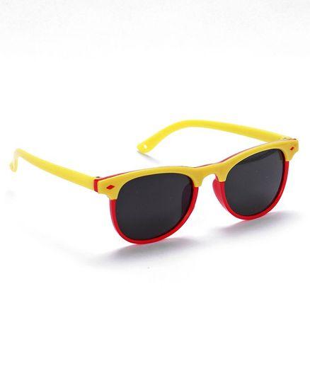 Babyhug Sunglasses - Yellow & Red