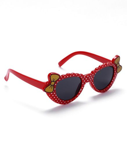 Babyhug Sunglasses Bow Design - Red