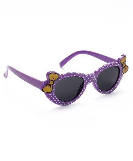 Babyhug Sunglasses Bow Design - Purple