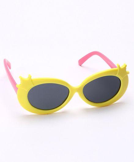 Babyhug Sunglasses - Yellow & Pink