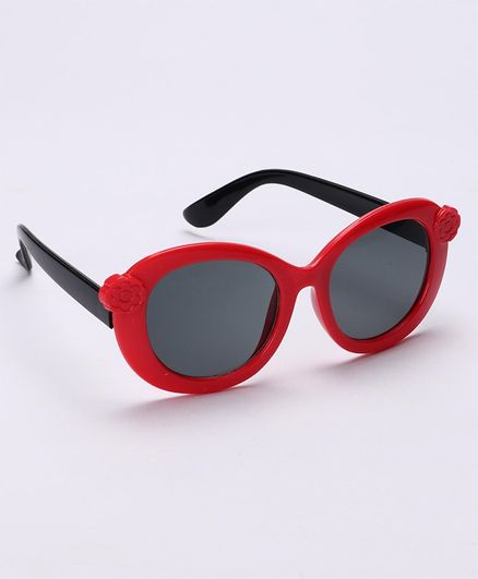 Babyhug Sunglasses - Red & Black