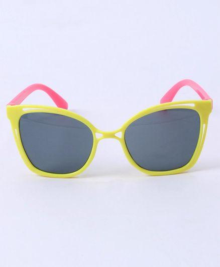 Babyhug Kids Sunglasses - Pink Yellow