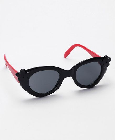 Babyhug Kids Sunglasses Floral Design - Red Black