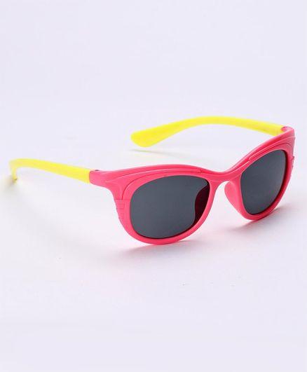 Babyhug Sunglasses - Pink & Yellow