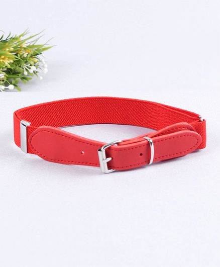 Babyhug Solid Belt - Red