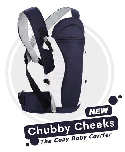 R for Rabbit Chubby Cheeks 3 Way Baby Carrier - Midnight Black