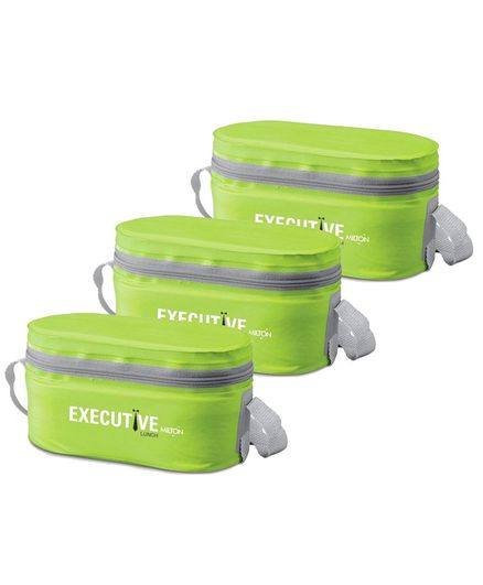 Milton Executive Lunch Box Pack Of 3 - Green