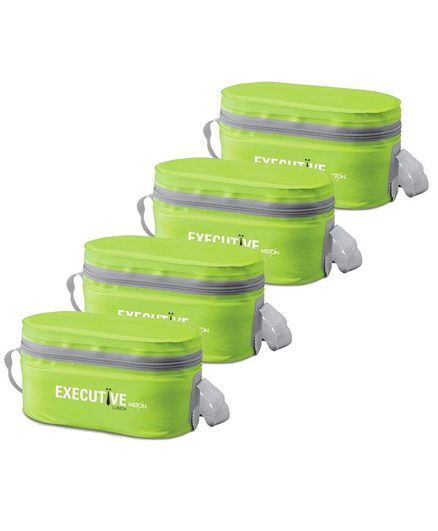 Milton Executive Lunch Box Pack Of 4 - Green