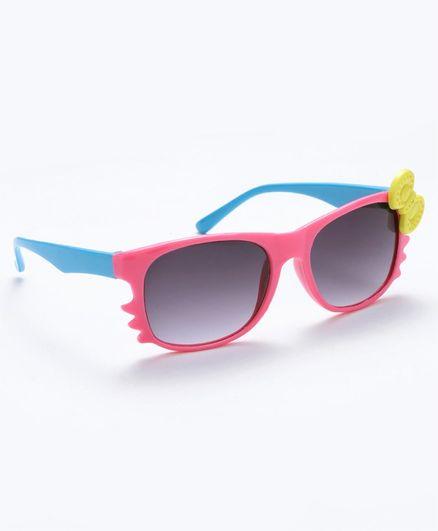 Babyhug Girls Sunglasses Bow Applique - Pink