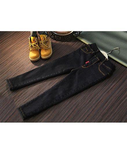 Pre Order - Awabox Solid Full Length Jeans - Black