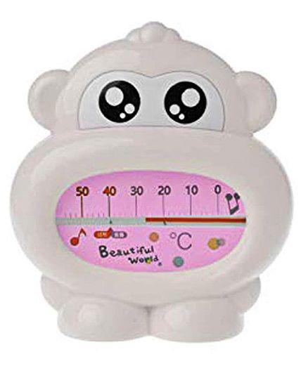 Safe-O-Kid- Monkey Shaped Thermometer - White