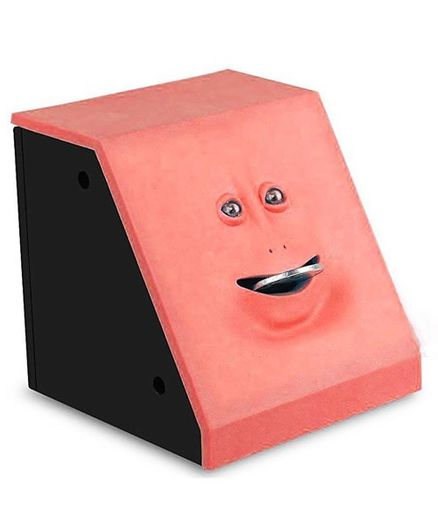 Webby Battery Operated Money Eating Coin Bank - Red