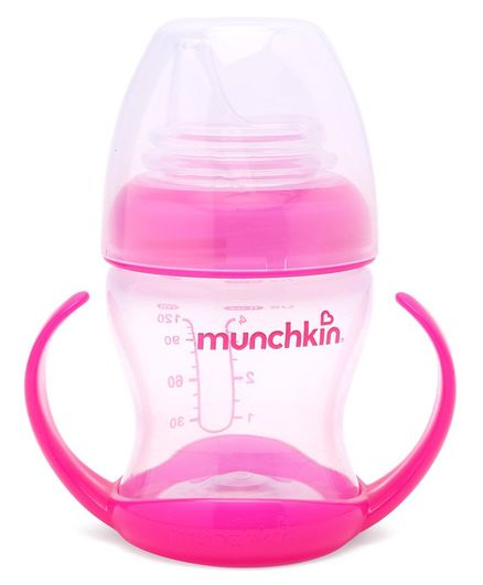 Munchkin Flexi Transition Cup Pink - 120 ml