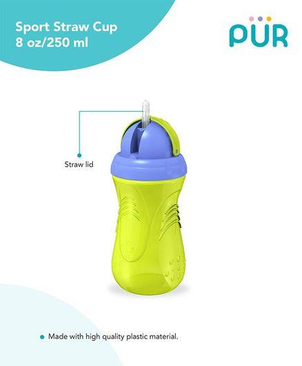 Pur Ridge Sport Cup Green & Blue - 250 ml
