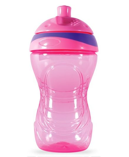 Pur Click N Lock Cup Pink and Purple - 360 ml