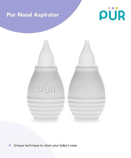Pur Nasal Aspirator - White