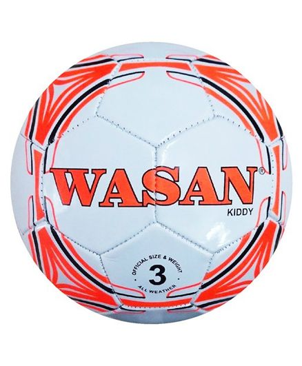 6a6b0a7f5 Wasan Kiddy Football Size 3 White Online India