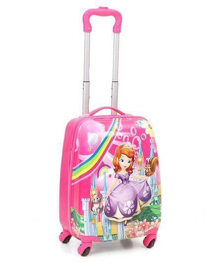 Disney Princess Kids Trolley Bag - Pink