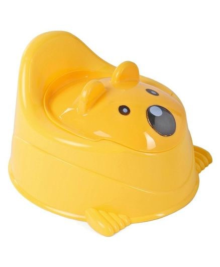 Animal Face Potty Chair - Yellow