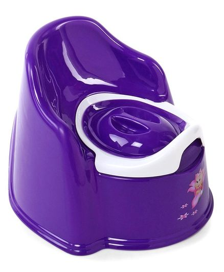 Baby Potty Chair With Removable Bowl - Dark Purple