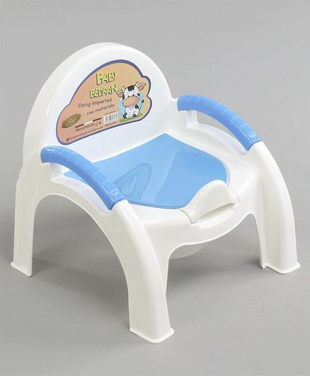 Baby Potty Chair with Handles - Blue