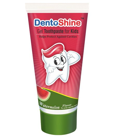 DentoShine Watermelon Flavoured Gel Toothpaste - 80 g