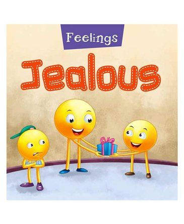 Feelings Jealous Book - English