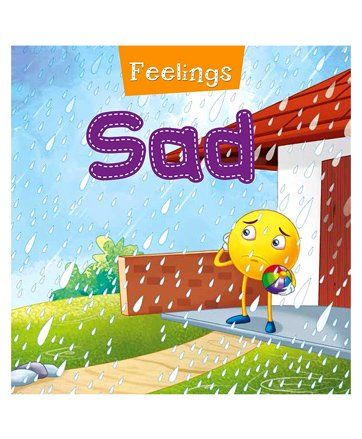 Feelings Sad Book - English