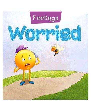 Feelings Worried Book - English