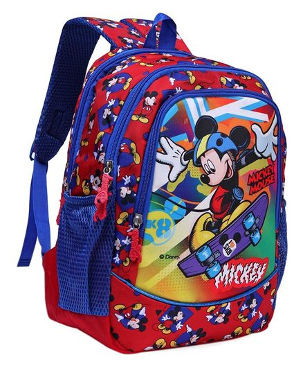 634f5f8997d7 Disney Mickey Mouse And Friends School Bag Red Height 16 Inches ...