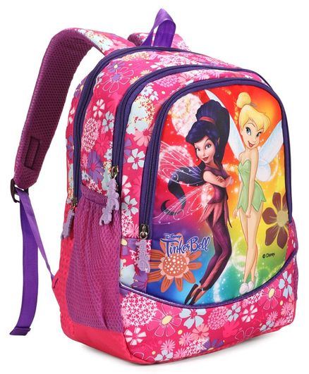 9ef3e7c32d6d Disney Fairies School Bag Pink Height 16 inches Online in India