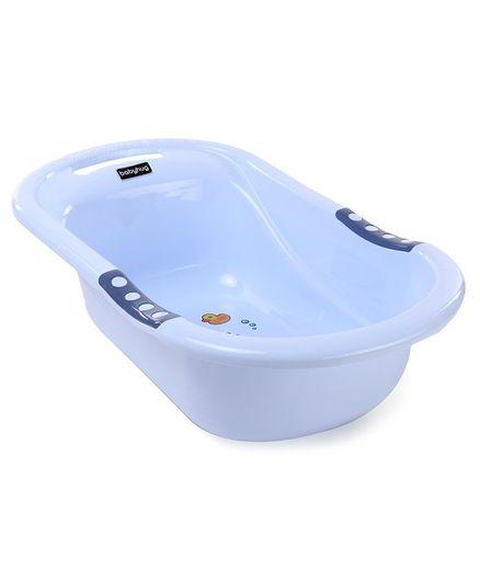 Babyhug Baby Bath Tub Animal Print - Blue