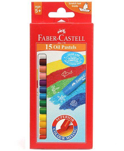 Faber Castell 15 Oil Pastels