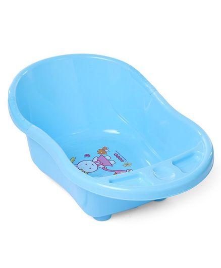 Babyhug Baby Bath Tub Bunny Print - Blue