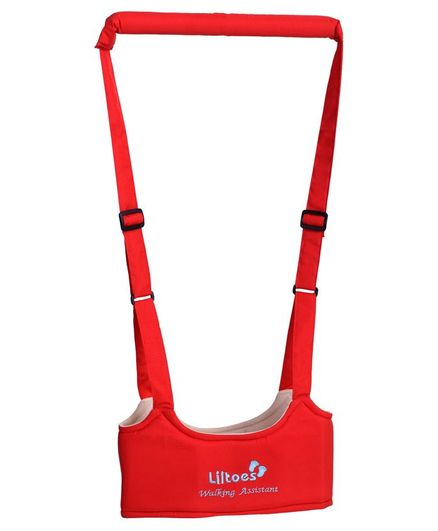 Liltoes Baby Walking Assistant Belt - Red