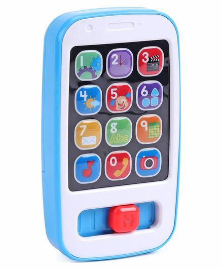 Fisher Price Kids Smart Phone - Blue