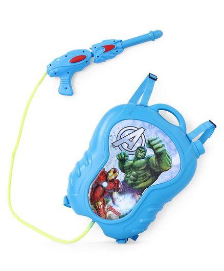 Marvel Avengers Water Gun With Backpack Storage Tank - Light Blue