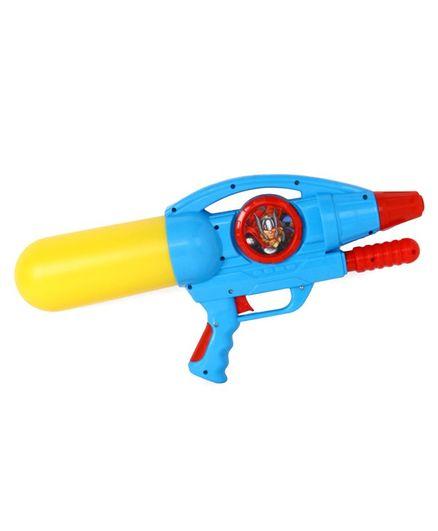 Marvel Avengers Holi Water Squirter Gun - Yellow Blue