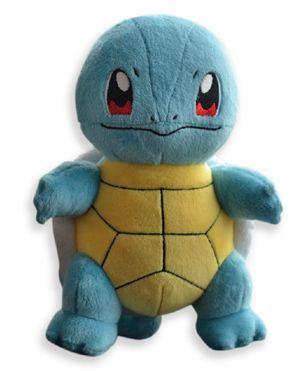 Pokemon Squirtle Plush Toy Blue Yellow - 23 cm