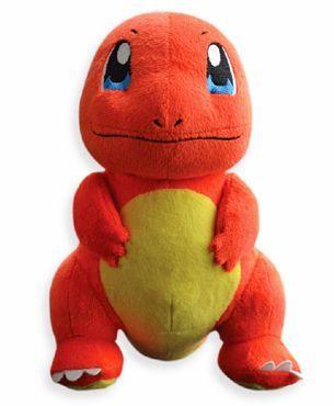 Pokemon Charmander Plush Toy Orange Yellow - 23 cm