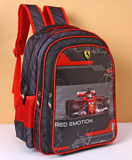 5ceb742fc0da Ferrari Red Emotion School Bag Red Height 16 inches Online in India ...