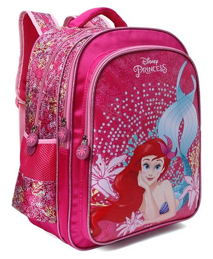 f620df59a1b2 Disney Princess School Bag Dark Pink Height 16 Inches Online in ...