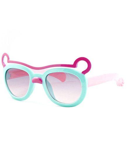 Kidofash Ears Theme Sunglasses - Green