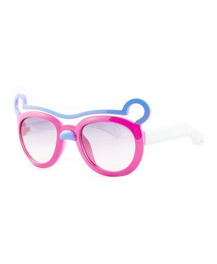 Kidofash Ears Theme Sunglasses - Dark Pink