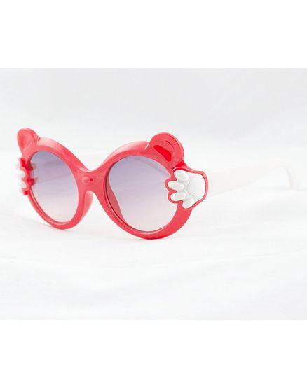 Kidofash Paws Theme Sunglasses  -  Red White