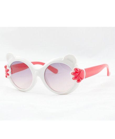Kidofash Paws Theme Sunglasses  - White