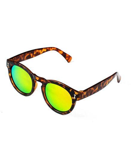 Kidofash Animal Print Sunglasses - Yellow